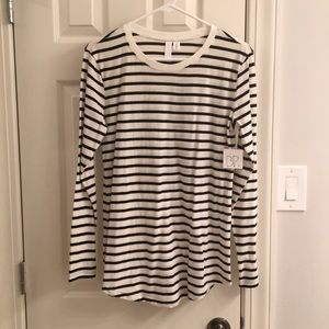NWT Size M Nordstrom BP striped top